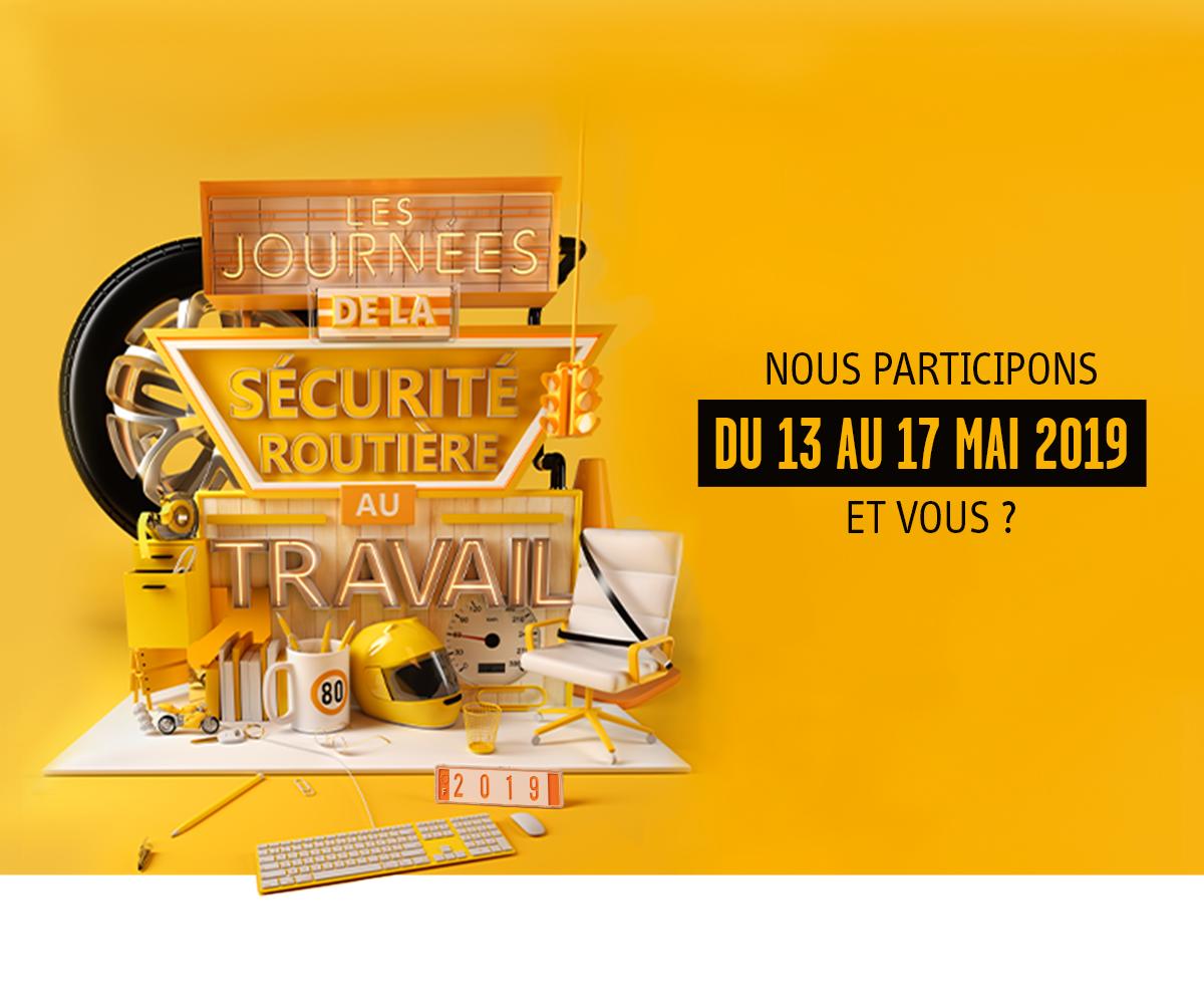 Semaine de la sécurité routière (13 au 17 mai 2019)