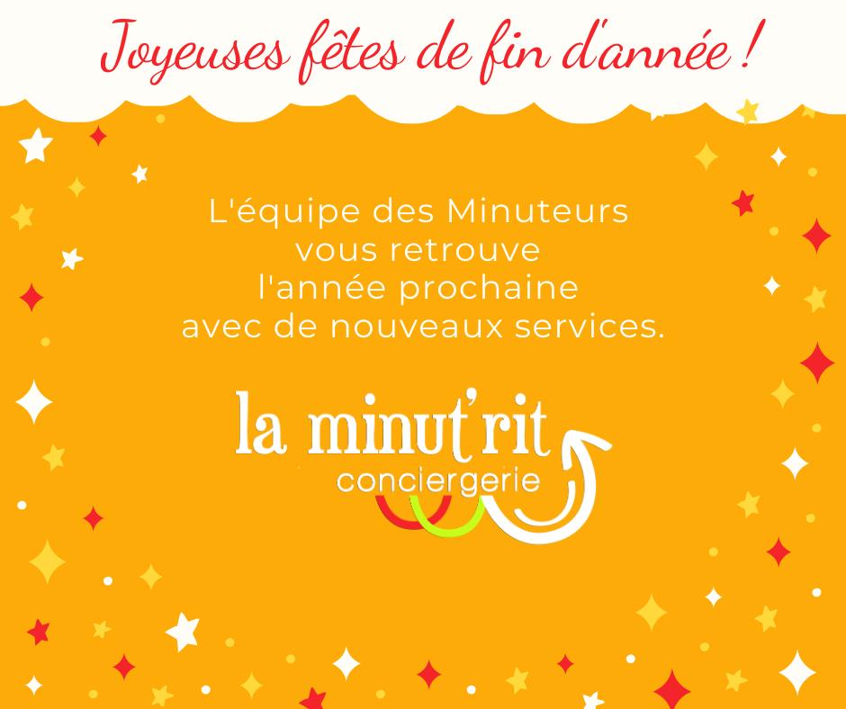 Votre conciergerie d'entreprise vous souhaite de joyeuses fêtes de fin d'année !