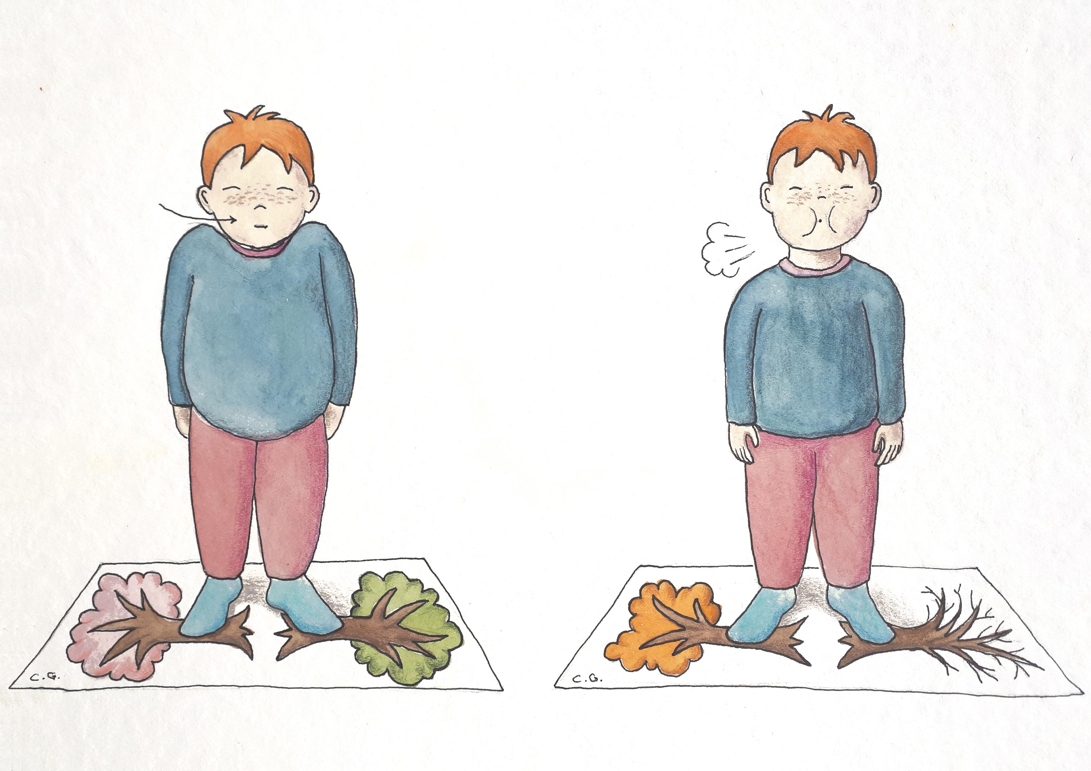 sophrologie enfants saisons