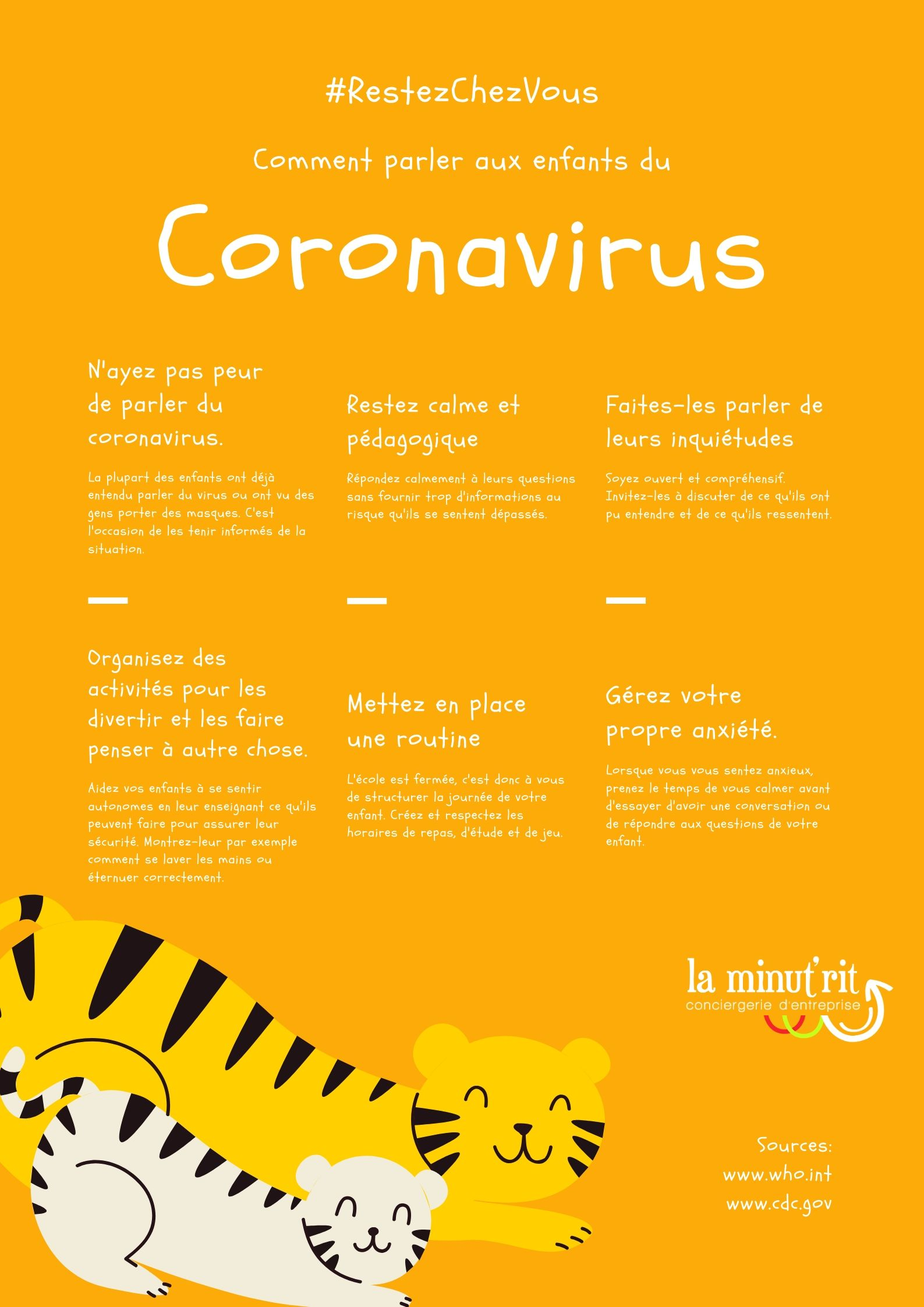 comment parler aux enfants du coronavirus covid 19