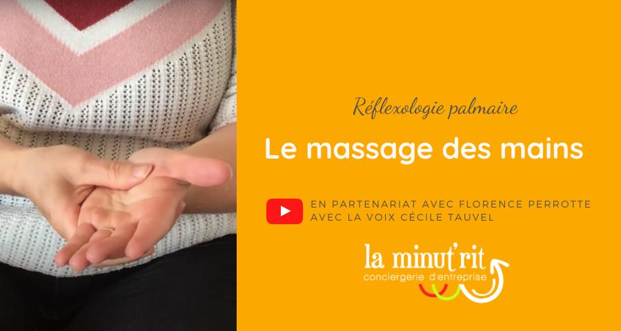 réflexologie palmaire auto massage main