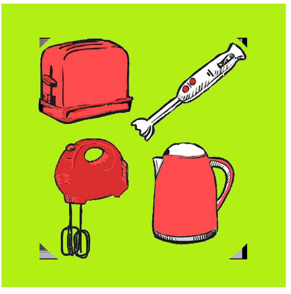 réparer petit électroménager bouilloire mixeur