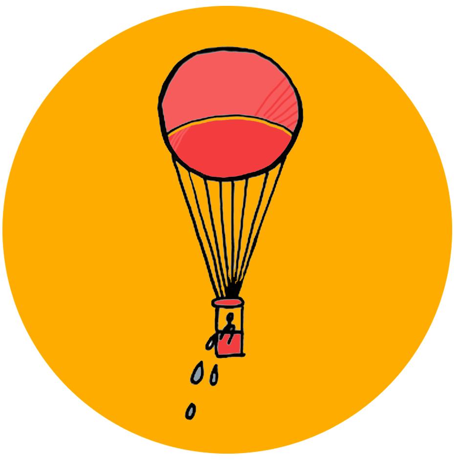 lâcher-prise montgolfière