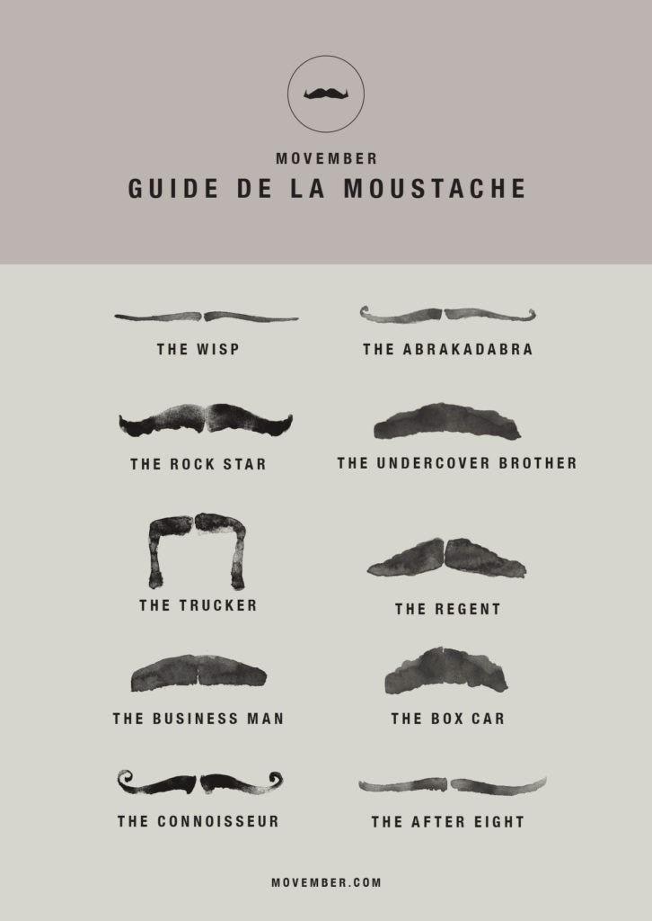 movember guide de la moustache