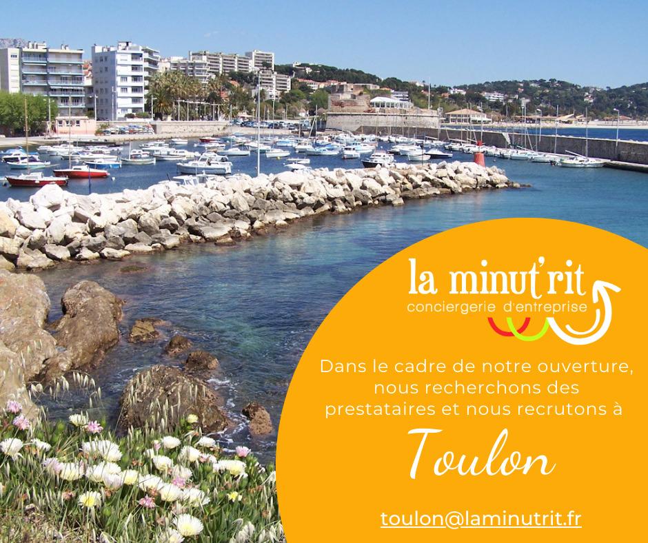 Conciergerie d'entreprise Toulon Var