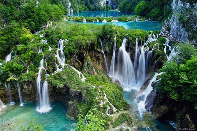 Croatie lac de plitvice